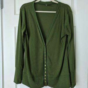 Sweaters - Long Sleeve Cardigan